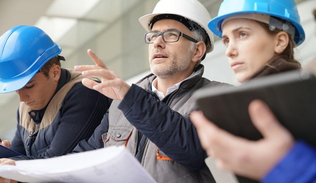 Bygg ingeniør ledere